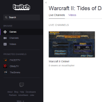 Stream Warcraft 2 on Twitch.tv