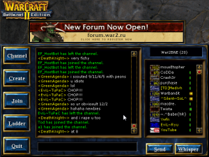 Server.war2.ru chat lobby